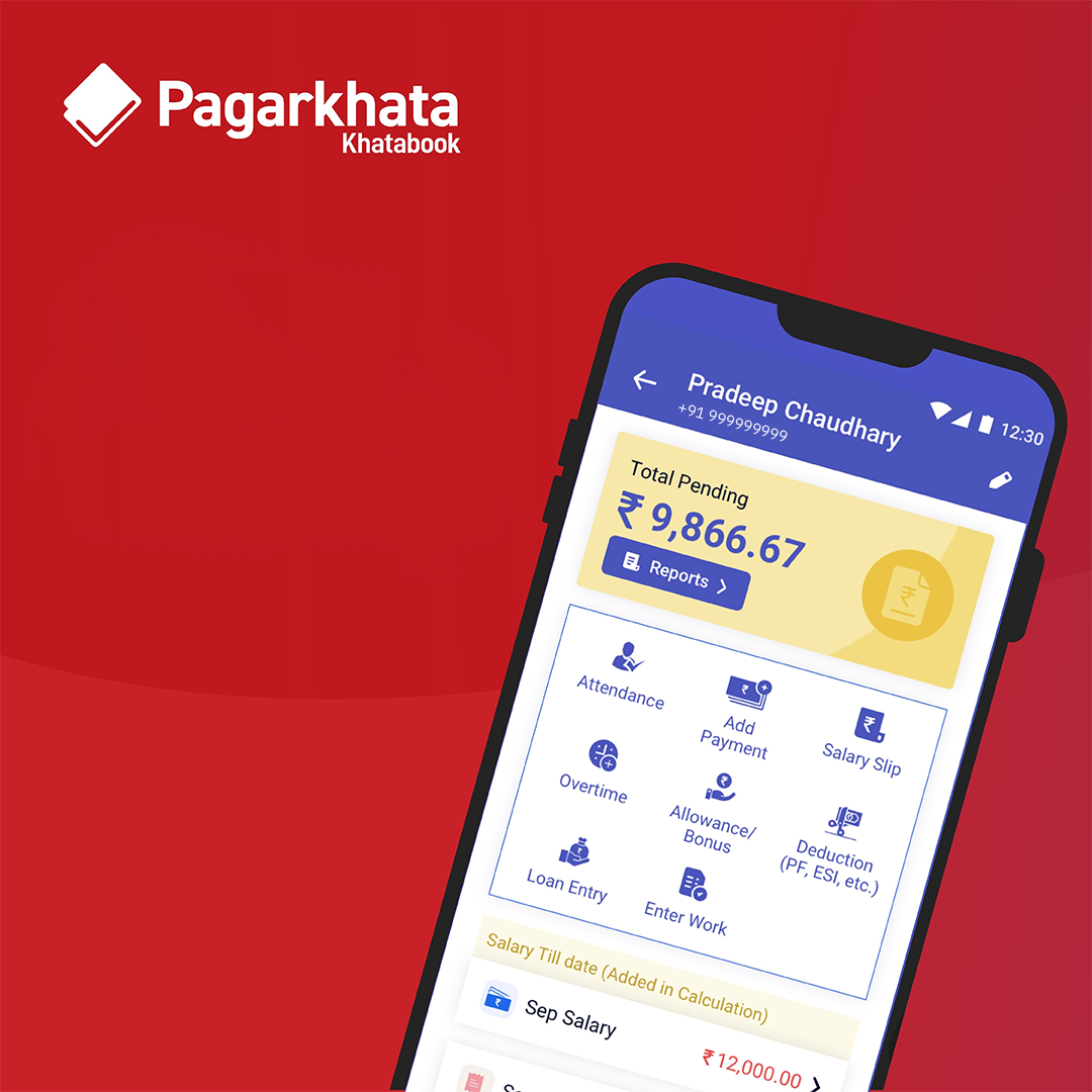 Digitising staff management for Indian MSMEs with Pagarkhata App