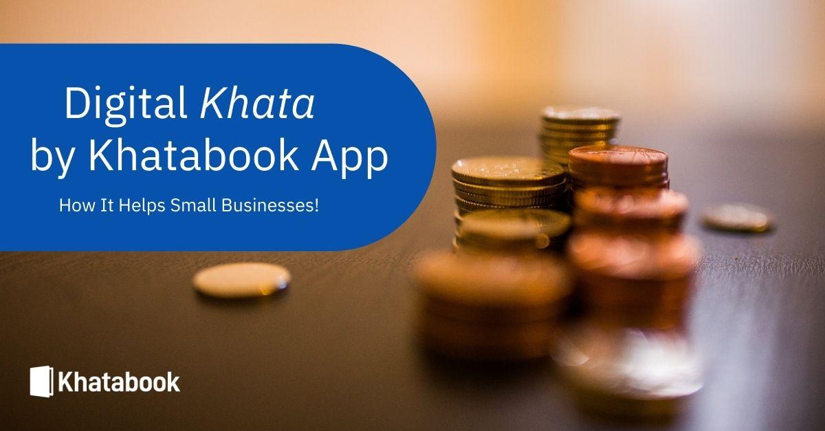Digital Khata by Khatabook